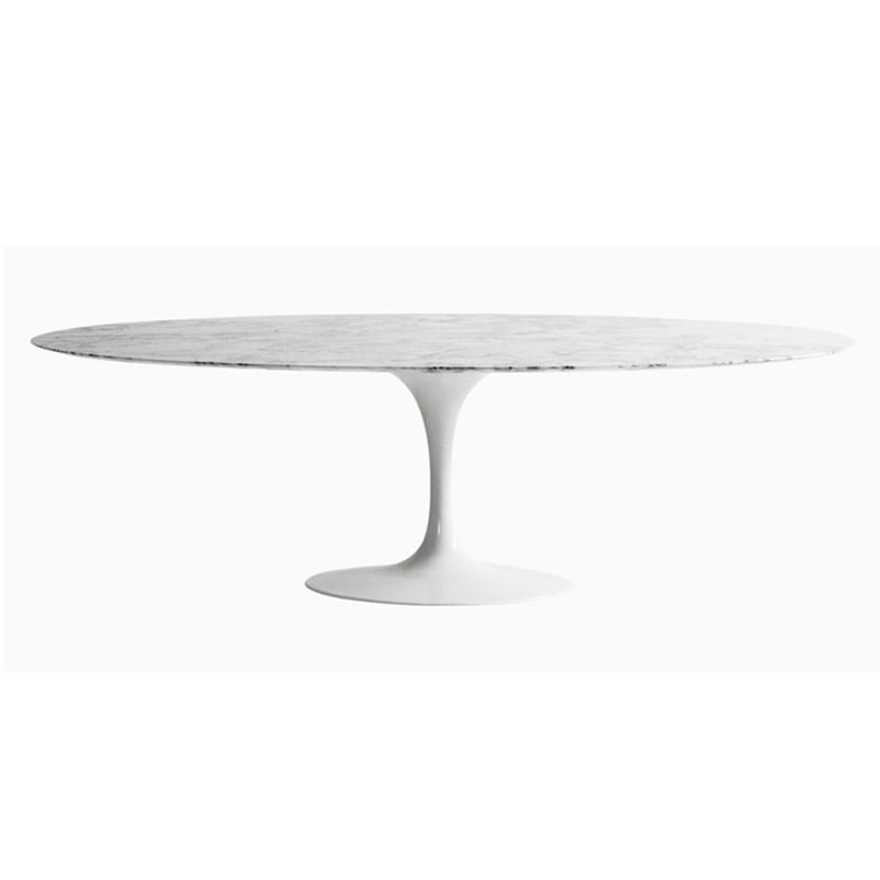 Table Tulipe En Marbre Ovale Ruze à Prix Dusine Designement