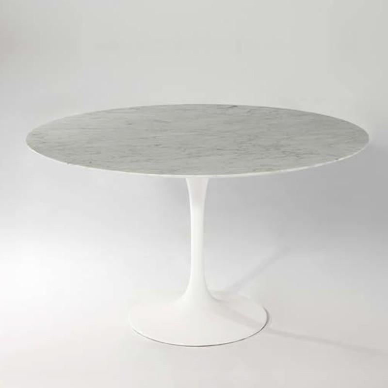 Table Ronde Blanche Table Basse Bois Moderne Maisonjoffrois