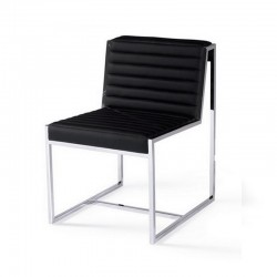 Chaise simili cuir- Ada