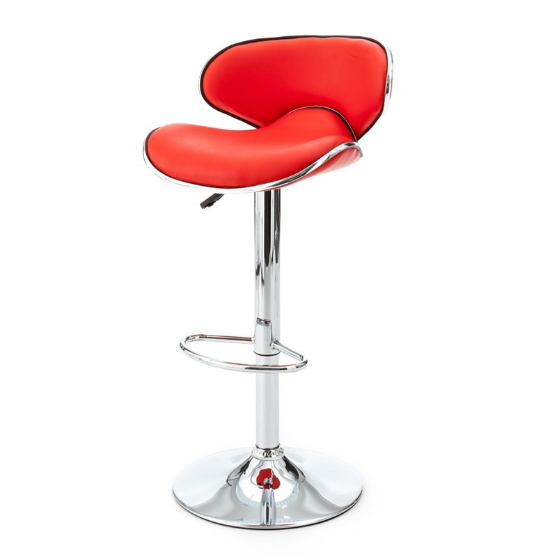 Tabouret de bar rouge - Vince
