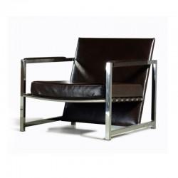 Fauteuil Cuir Design MIKO