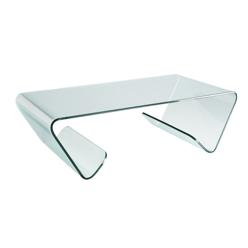 Table basse verre design - Table basse ronde en verre design ...