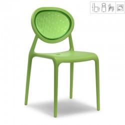 chaise de jardin verte