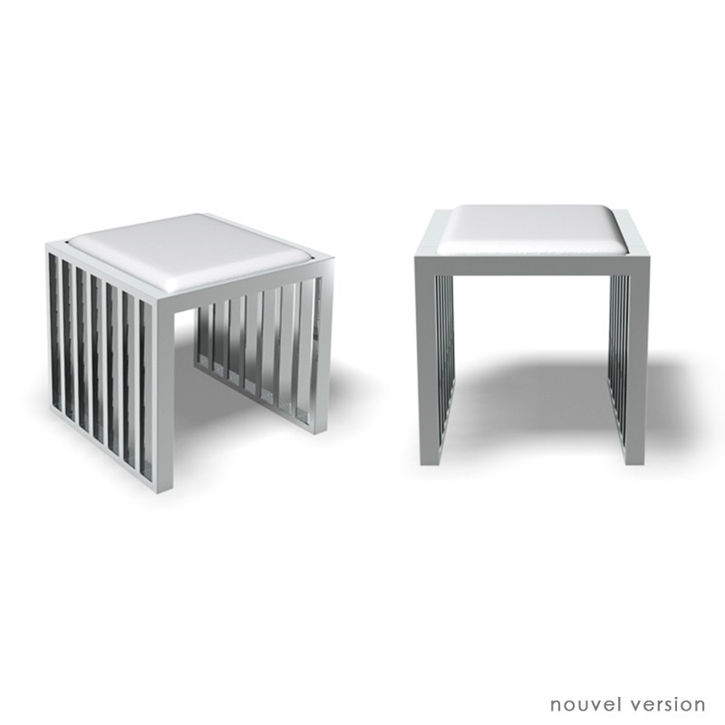 Tabouret cube - Valda