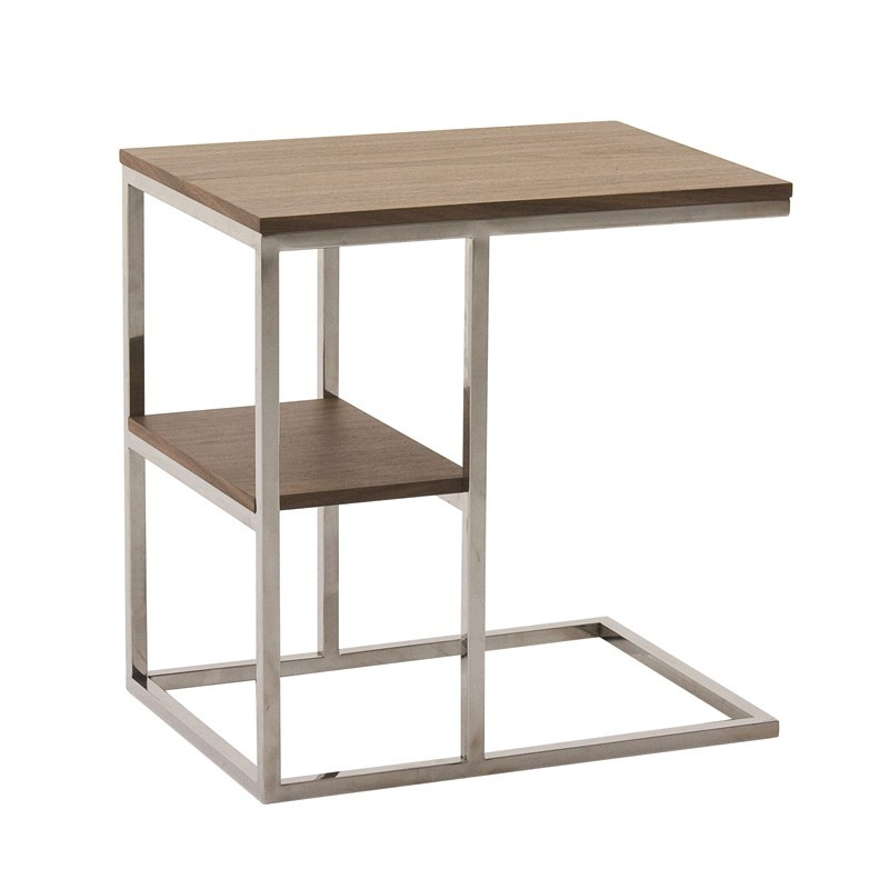Table d 39 appoint contemporaine 2 plateaux wally - Table d appoint malm ...