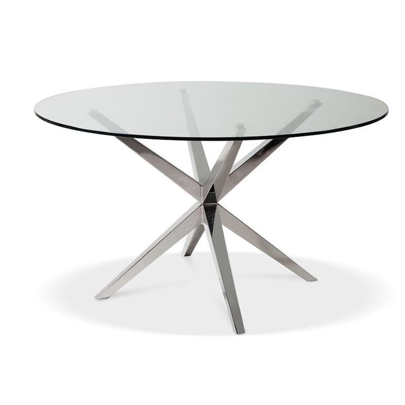 table manger ronde design en verre robert prix d 39 usine. Black Bedroom Furniture Sets. Home Design Ideas