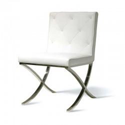 Chaise blanche élégante