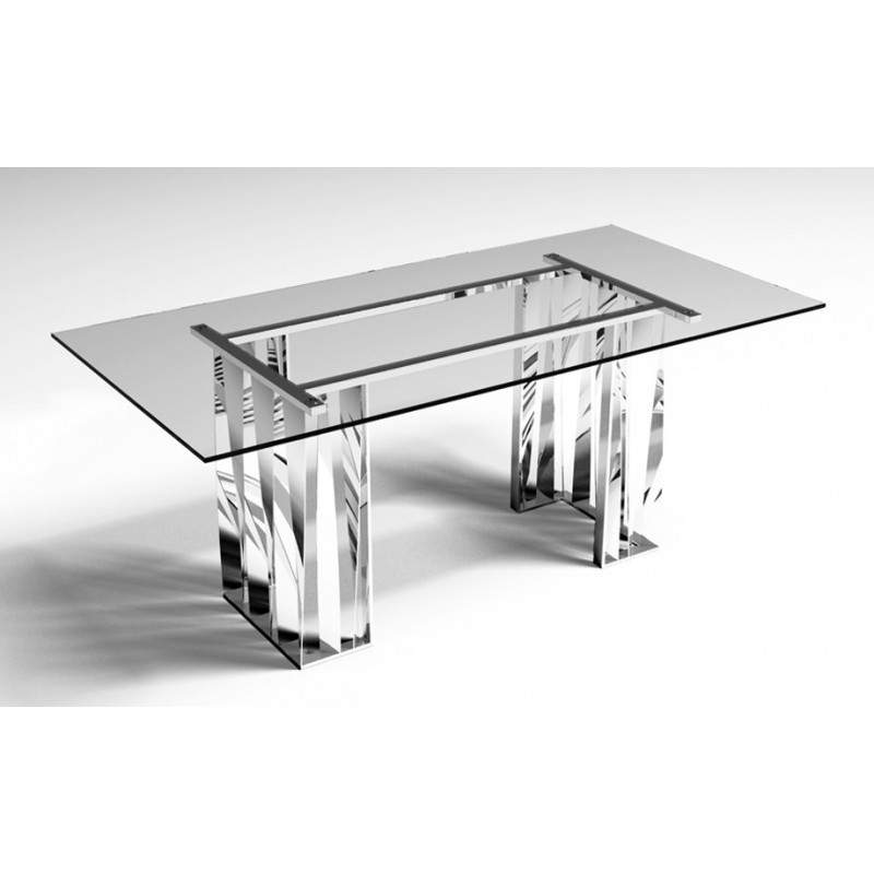 Table design transparente
