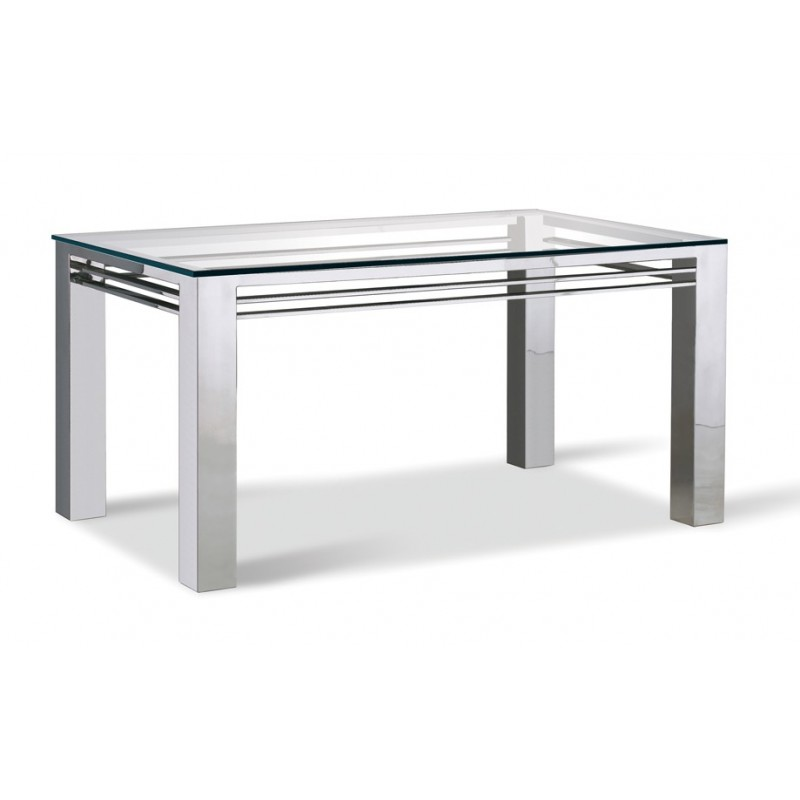 Table design inox
