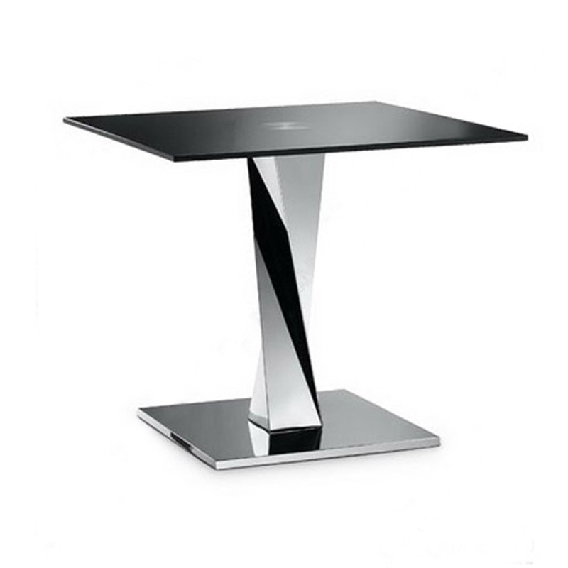 table d'appoint inox