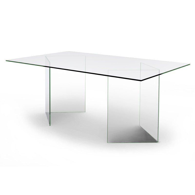 Table / Bureau en verre - Olivia