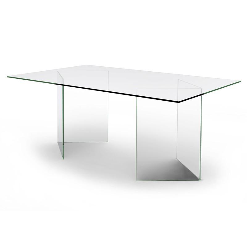 Table / Bureau en verre - Olivia