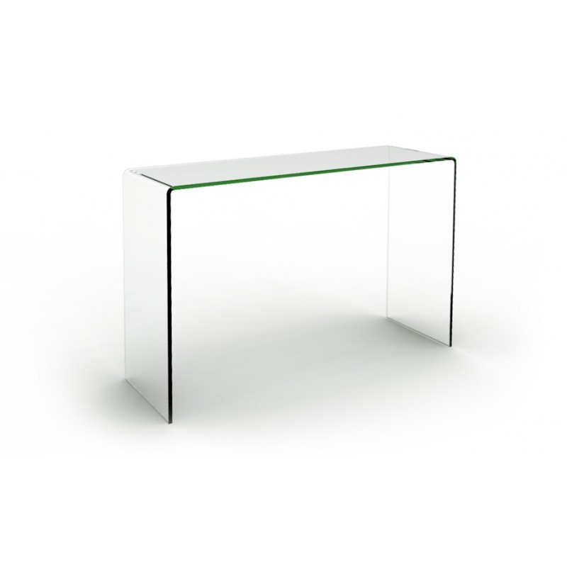 table console en verre joan prix d 39 usine designement. Black Bedroom Furniture Sets. Home Design Ideas